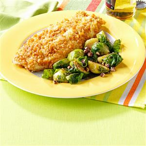 Maple-Pecan Brussels Sprouts Recipe