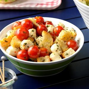 Marinated Mozzarella & Tomato Appetizers Recipe