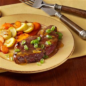 Marmalade-Glazed Steaks