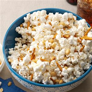 Marshmallow-Peanut Popcorn Recipe