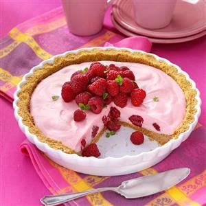Marshmallow Raspberry Pie Recipe