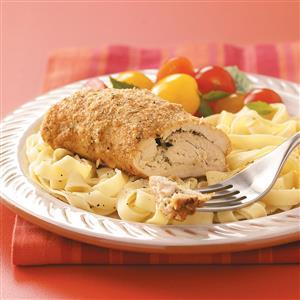 Mascarpone-Pesto Chicken Rolls Recipe