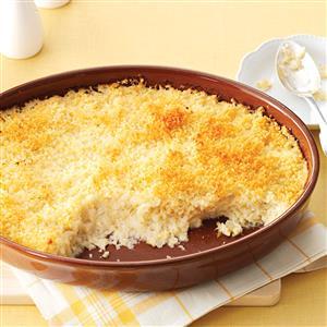 Mashed Cauliflower au Gratin Recipe