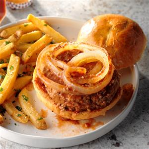 Meat Loaf Burgers Recipe