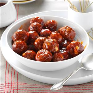 Meatballs in Barbecue Sauce Recipe