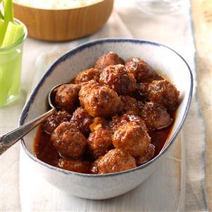 Meatballs in Honey Buffalo Sauce  Recipe