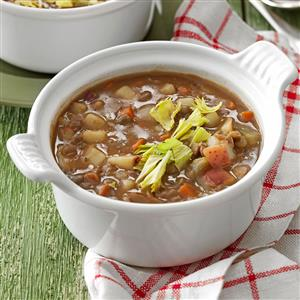Meatless Lentil Soup Recipe