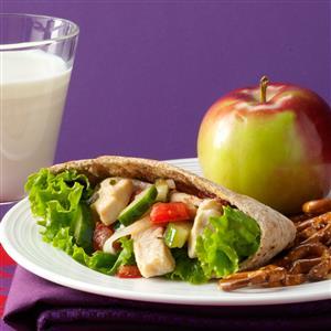 Mediterranean Chicken Sandwiches Recipe