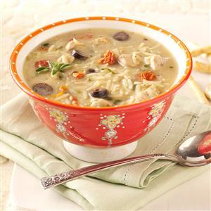 Mediterranean Chicken Soup Recipe