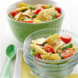 Mediterranean Pasta Caesar Toss Recipe