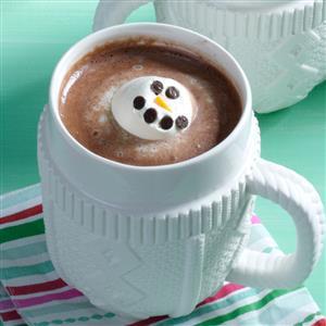 Melting Snowman Recipe