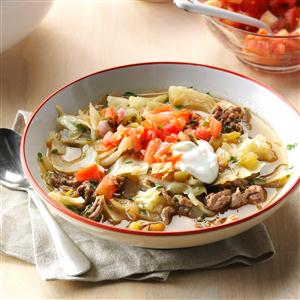 Mexican Cabbage Roll Soup Recipe