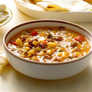Mexican Chorizo and Corn Soup Recipe