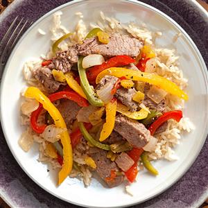 Mexican Fiesta Steak Stir-Fry Recipe