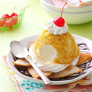 Mexican Ice Cream Sundaes Recipe