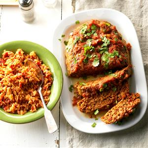 Mexican Turkey Meat Loaf Recipe