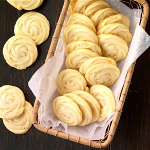 Mimosa Butter Cookies Recipe