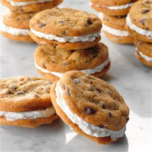 Mini Chocolate Chip Sandwich Cookies Recipe