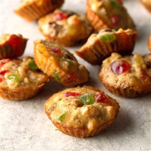 Mini Fruitcakes Recipe
