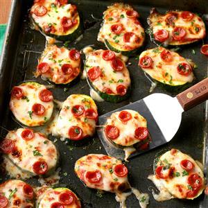 Mini Zucchini Pizzas Recipe