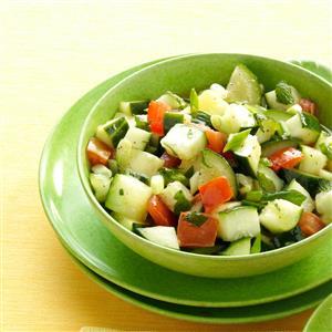 Minted Cucumber Salad Recipe
