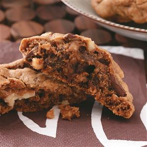 Mocha Chunk Cookies Recipe