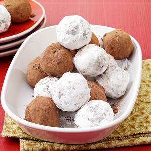 Mocha Pecan Balls Recipe