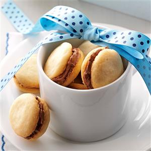 Mocha Sandwich Cookies Recipe