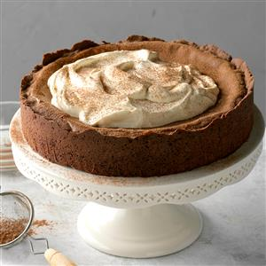 Mocha Truffle Cheesecake Recipe