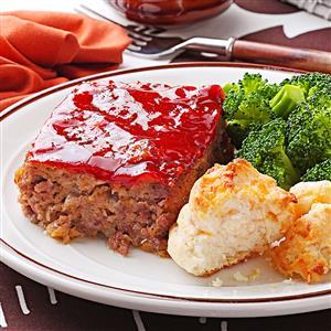 Moist & Savory Meat Loaf Recipe