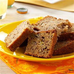 Moist pineapple banana bread recipe taste of home moist pineapple banana bread recipe forumfinder Gallery
