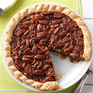 Molasses-Bourbon Pecan Pie Recipe
