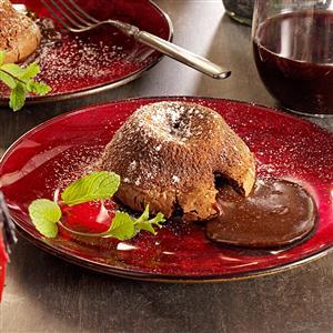 Molten Chocolate Cakes Recipe