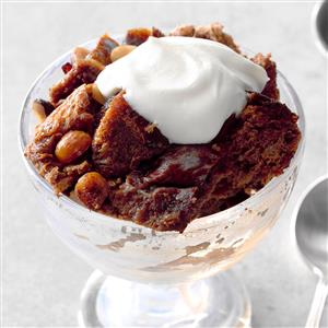 Mom's Hazelnut & Chocolate Bread Pudding Recipe