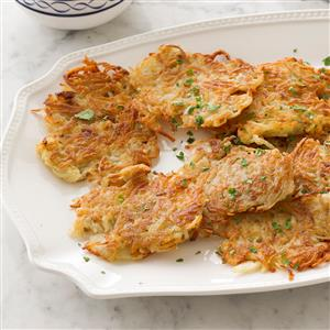 Mom's Potato Pancakes Recipe