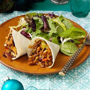 Moo Shu Chicken Cones Recipe