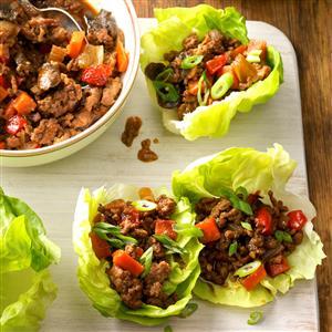 Moo Shu Lettuce Cups Recipe