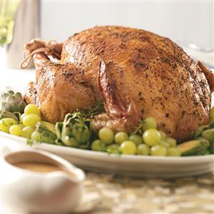 Mushroom-Rosemary Turkey Gravy Recipe