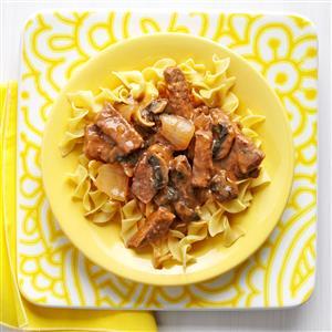 Mushroom Steak Recipe