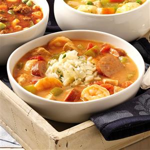 New orleans gumbo recipe taste of home new orleans gumbo recipe forumfinder Image collections