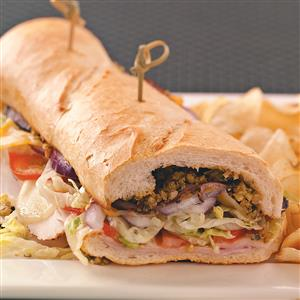 New Orleans-Style Subs Recipe