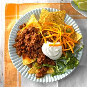 No-Guilt Beefy Nachos Recipe