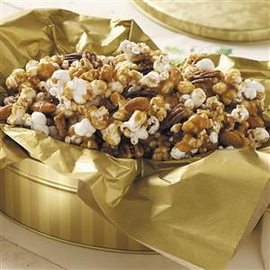 Nutty Caramel Popcorn Recipe