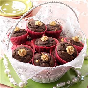 Nutty Chocolate Muffins Recipe