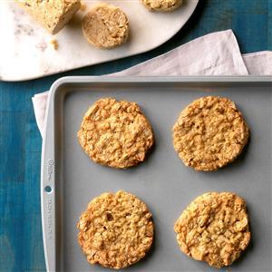 Oat & Coconut Icebox Cookies Recipe