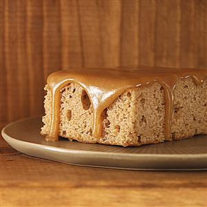 Oatmeal Cake with Caramel Icing Recipe