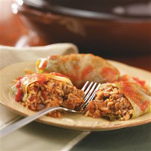 Old-Fashioned Cabbage Rolls Recipe