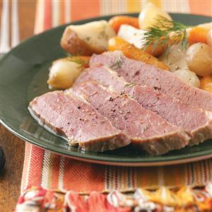 Old-World Corned Beef and Vegetables Recipe