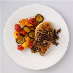 Olive 'n Fig Chicken for Two Recipe
