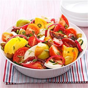Olive Caprese Salad Recipe